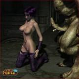The Porncraft scene - 3D CGI Porn