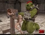3d cgi porn with Slutty elf girl