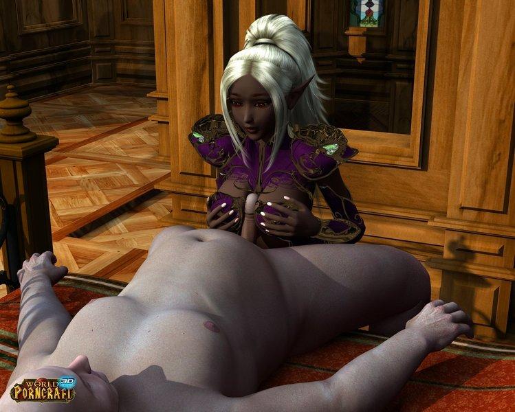Elf Porncraft sex story