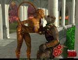 3D furry tiger slut - 3D CGI Porn Insane3D