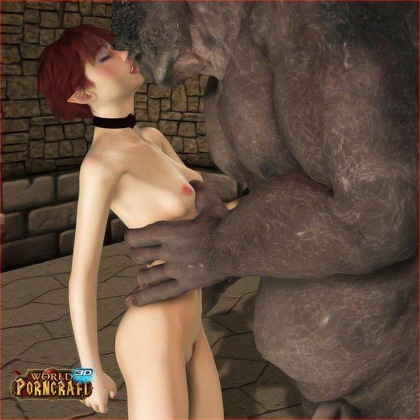 3d c g i porn : ELF-babe