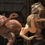 3d cgi porno for Minotaur - Xeno 3DX