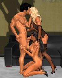 GroupSex 3D scenes 04