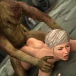 3d cgi sexy blonde - CGI Girl 3D