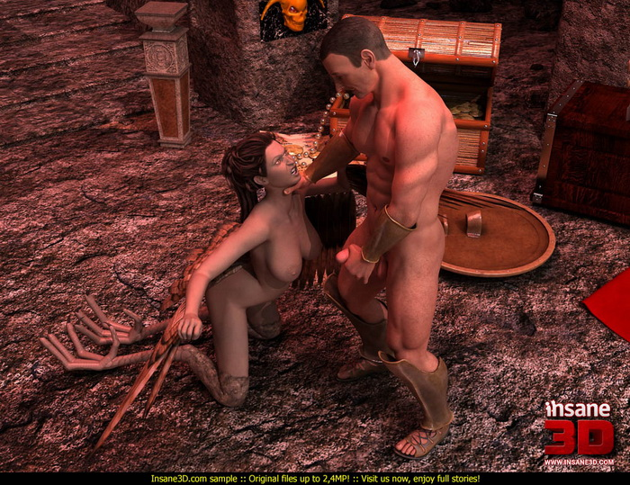 Hot harpy in 3d cgi - 3D CGI Porn Insane3D