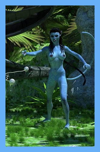 Na'vi bitch in sex action! - 3D CGI Porn Insane3D